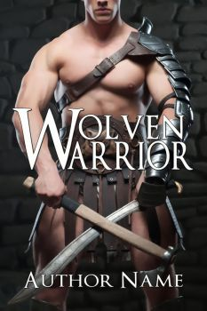 Wolven Warrior STOCK book cover by asharceneaux