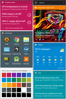 Google Now for Rainmeter v0.8.1 by SantiagoLP98