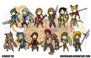 DS Mini Character Set by The-Knick