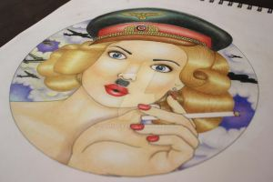 Nazi Pinup Girl by CamSleaze
