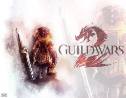 Guild Wars 2 fanart by suppa-rider