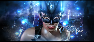 cat woman by cliffbuck