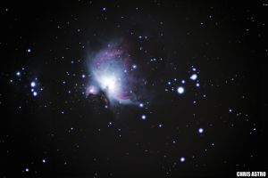 Orion Nebula by ChrisAstro102