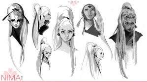 Nima Sketches by Rossipoo