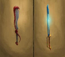 Weapon concepts by aRchAng3lZz