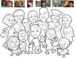 EVENTS caricatures by caricatalia