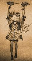 Pastel Goth sketch 2 by CaramelMoelleux