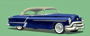 age of chrome and fins : 1953 Oldsmobile by Peterhoff3