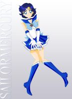 Sailor Mercury, Golden Form by ParlourTricks