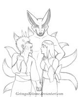 NH - Date Mischief Lineart by GetsugaKitsune