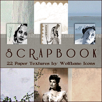 Scrapbook Icon Textures by jordannamorgan