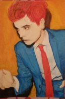 Gerard Way Hesitant Alien by killjoybyname