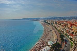 View of Nice by goucha