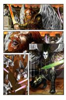 Fifedom of Angels battle by rickyt247