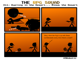 The RPG Squad #11 by Number9Robotic