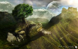 Ancient Turtle by softart03