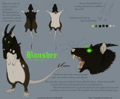 New character: Banshee by CunningFox