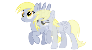 Ditzy Doo/Derpy Hooves theory by Secret-Cheesecake