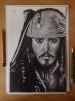 Captain Jack Sparrow by JoblessDove
