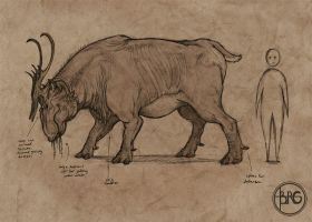Swamp Grazer by GuthrieArtwork
