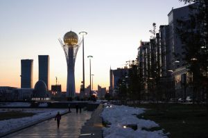 Evening in Astana by voldemometr