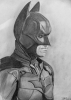 Drawing Batman Christian Bale Dark Knight by wylie-schatz