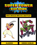 Super Power Beat Down #4 by Hewylewis