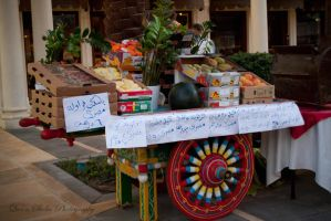 Fruit Cart by QueenSheba24