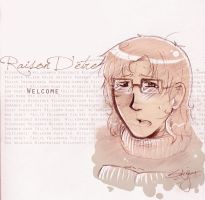 Welcome scetch by Sukai-yume