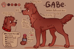 You remind me of the gabe by FourDirtyPaws
