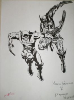 wolverine vs weapon x by Lunkface89