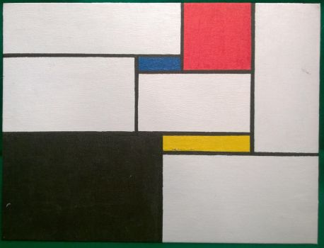 Mondrian Inspired by DrkSpde