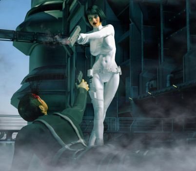 Ghost in the shell 2 by hiram67