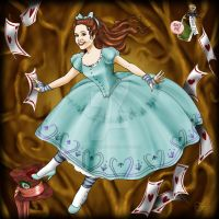 Missy in Wonderland by ValerieGallery