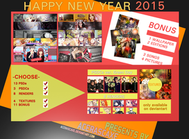 Special Pack 2 New Year 2015 by AceraScaxe