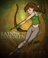 Katniss Everdeen by pootpoot1999