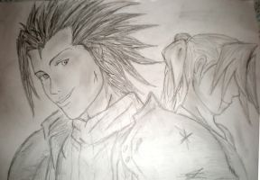 Zack and Aerith by DragonRiderofRohan