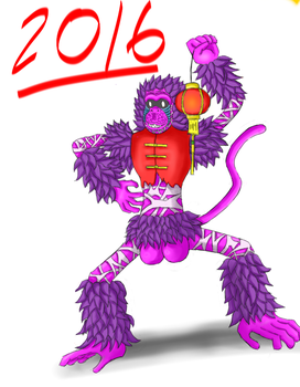 YEAR OF THE CHINESE MONKEY 2016!!! by ironbranch
