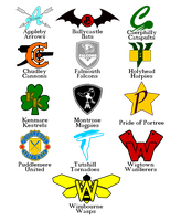 The Logos of Quidditch by KingonAir