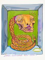 CIRCUS of FREAKS, The Serpent Man. by Christian-Attridge