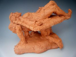 feet of clay:sides of freedom4 by KonstantinZ