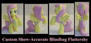 Show-Accurate Fluttershy by Gryphyn-Bloodheart