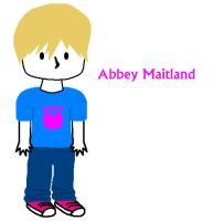 Abbey Maitland chibi :3 by white-wolf27