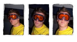...CUSTOM GOGGLES... by 1860