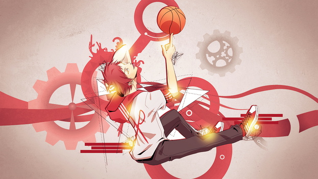 Akashi Seijuro Wallpaper by SamySamosa
