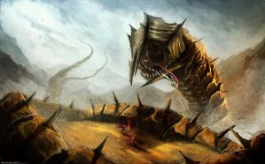 Sandworm by rEzblack