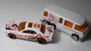Mirai's Custom Hot Wheels by Anths95