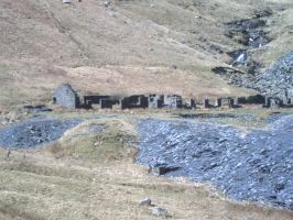snowdonia iron mine building 4 by NrogueO14thAparadoxH