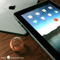 ipad 3D by dinamicdesign