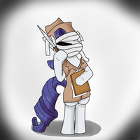 Rarity the Nurse (Contest) by Sonikku001